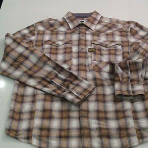 Men's G-Star Raw Cotton Plaid Shirt